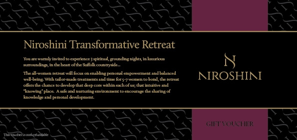 Niroshini Transformative Retreat Voucher