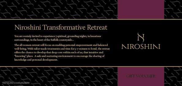 Niroshini Transformative Retreat Voucher